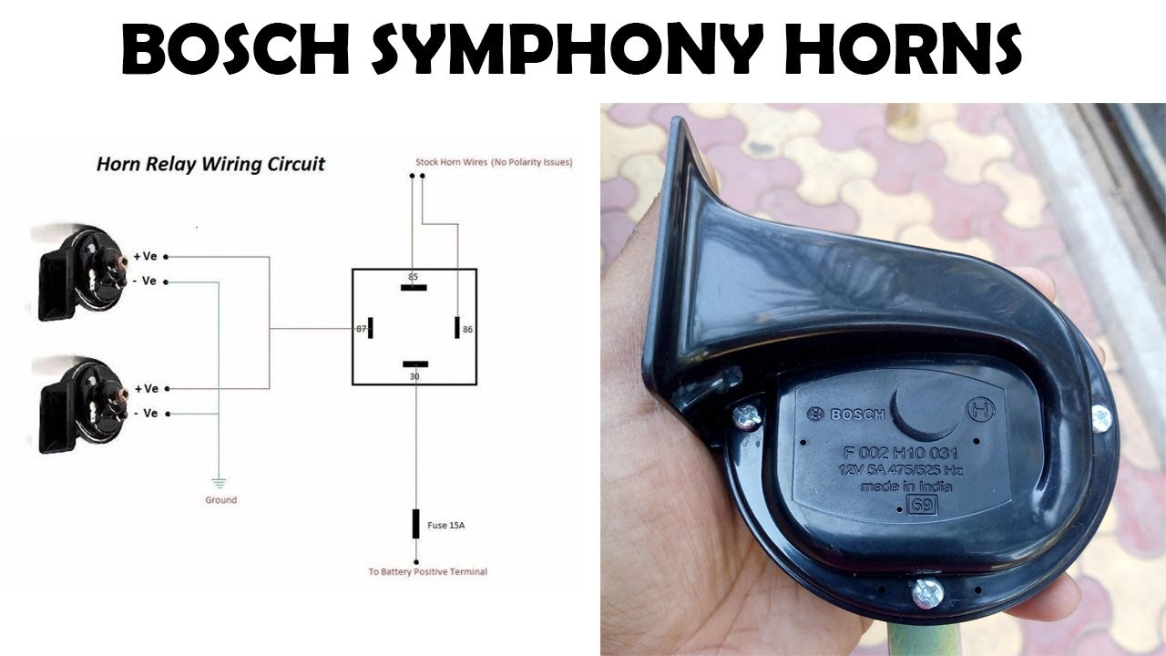 Bosch Symphony Horns Installation Youtube