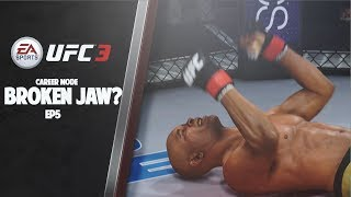 Anderson Silva Broke My Jaw?! EA UFC 3 Career Mode EP5 (Road To GOAT)