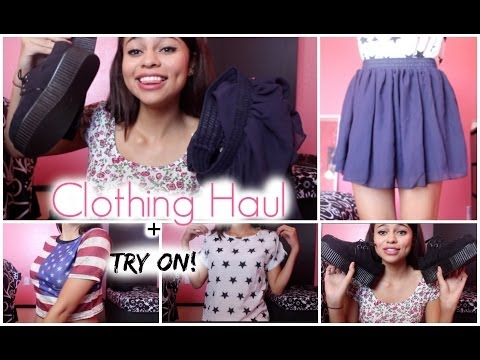Clothing Haul W/ Try On! Ft.OASAP.com