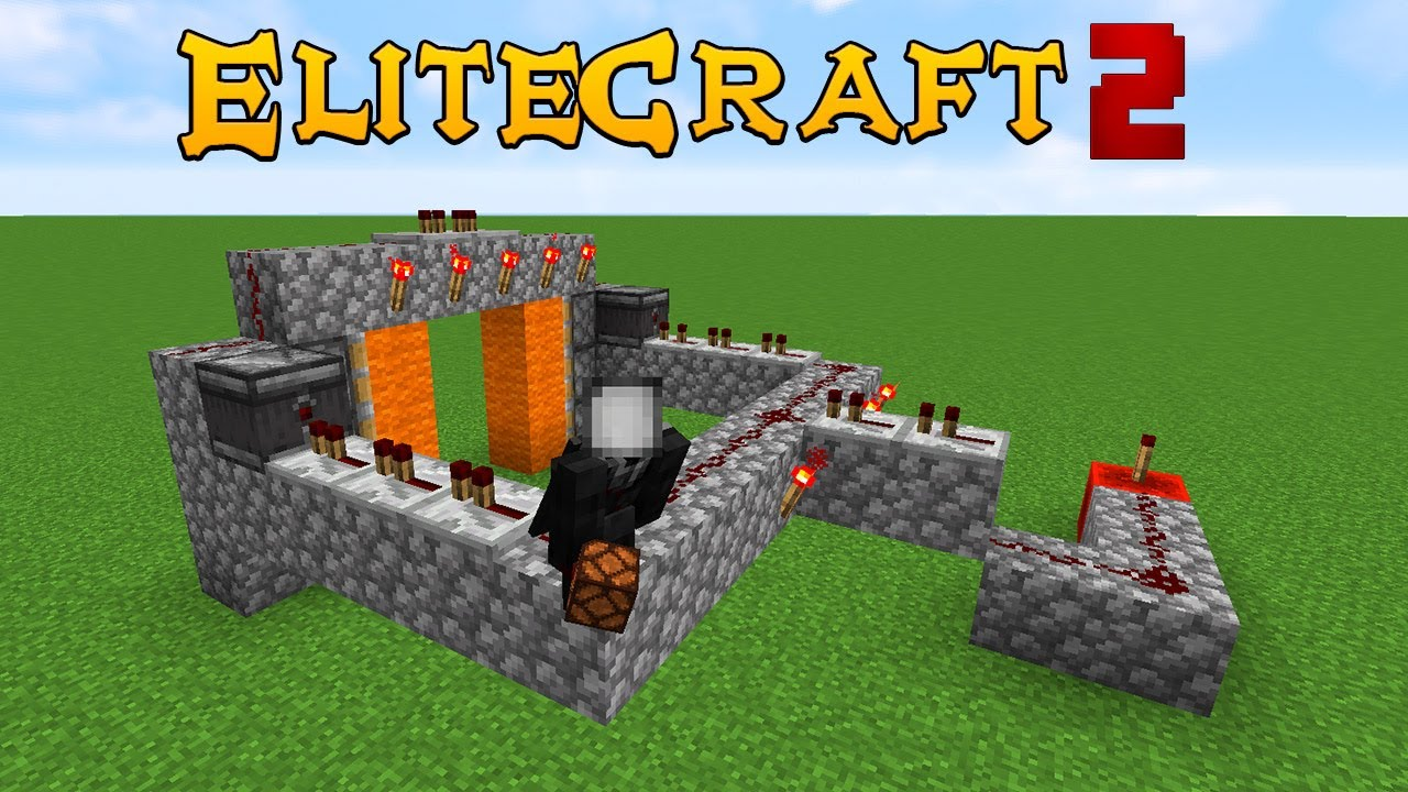 Elitecraft 2 Ep4 - REDSTONE MAL