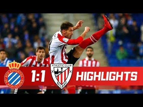 Espanyol vs Athletic Bilbao 1-1 - Goals & Highlights - La Liga 14/01/2018 HD