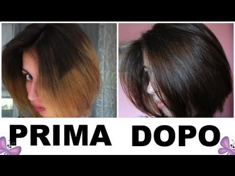 Riflessante biondo su capelli decolorati