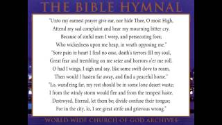 46.UNTO MY EARNEST PRAYER GIVE EAR-The Bible Hymnal of the Worldwide Church of God