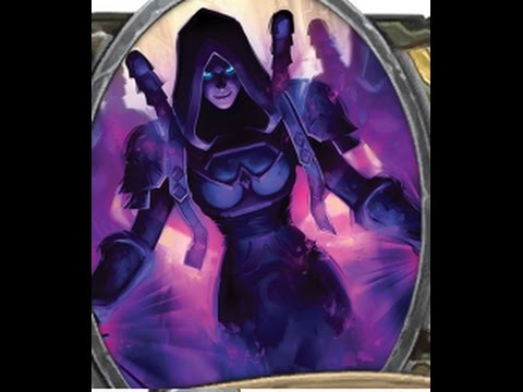 Hearthstone Tyrande Shadow Form - Shadow Priest - YouTube