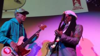 "Nile Rodgers & Flea Grammy Week Jam: ""Le Freak"""
