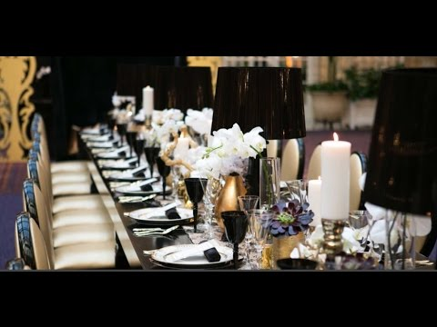 Art Deco Wedding Table Decorations