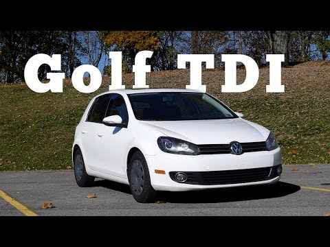 2012 Volkswagen Golf TDI: Regular Car Reviews
