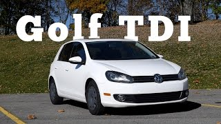 2012 Volkswagen Golf Tdi: Regular Car Reviews
