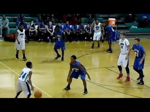 Gavin Withrow - Johnson Traditional Middle School - 8th grade season.