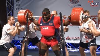 Ray Williams - 1083.5kg/2389lbs IPF World Classic Powerlifting Championships 2018