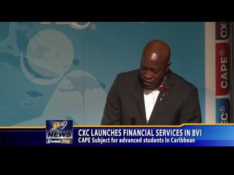 CXC LAUNCHES FINANCIAL SERVICES IN BVI 1