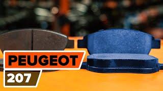 Wie PEUGEOT 207 (WA_, WC_) Bremsbeläge für Trommelbremsen austauschen - Video-Tutorial
