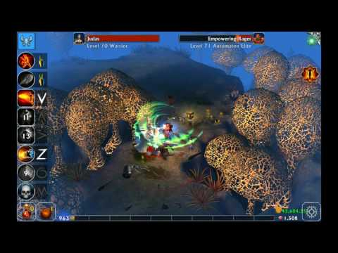 Eternium  Led gameplay  1000 trial, historic run  by Andrei