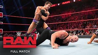FULL MATCH - Chad Gable vs. Baron Corbin – King of the Ring Final: Raw, Sept. 16, 2019