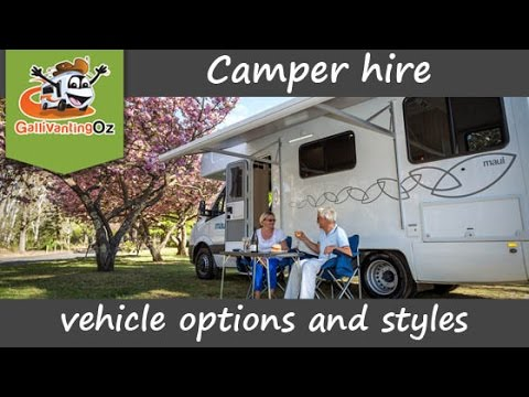 Vehicle Options And Styles With Motorhome Hire Or Campervan Hire In Australia