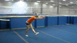 Front Handspring To Two Feet