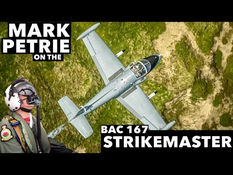 Interview with Mark Petrie on The Strikemaster