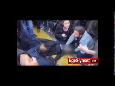 Van'da BDP'lilerden Başörtülü Bayanlara Alçakça Saldırı