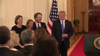 Donald Trump announces supreme court nominee  - live thumbnail