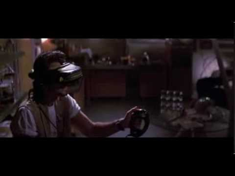 Virtual Reality and OMNI like device in Hackers Movie (1995)