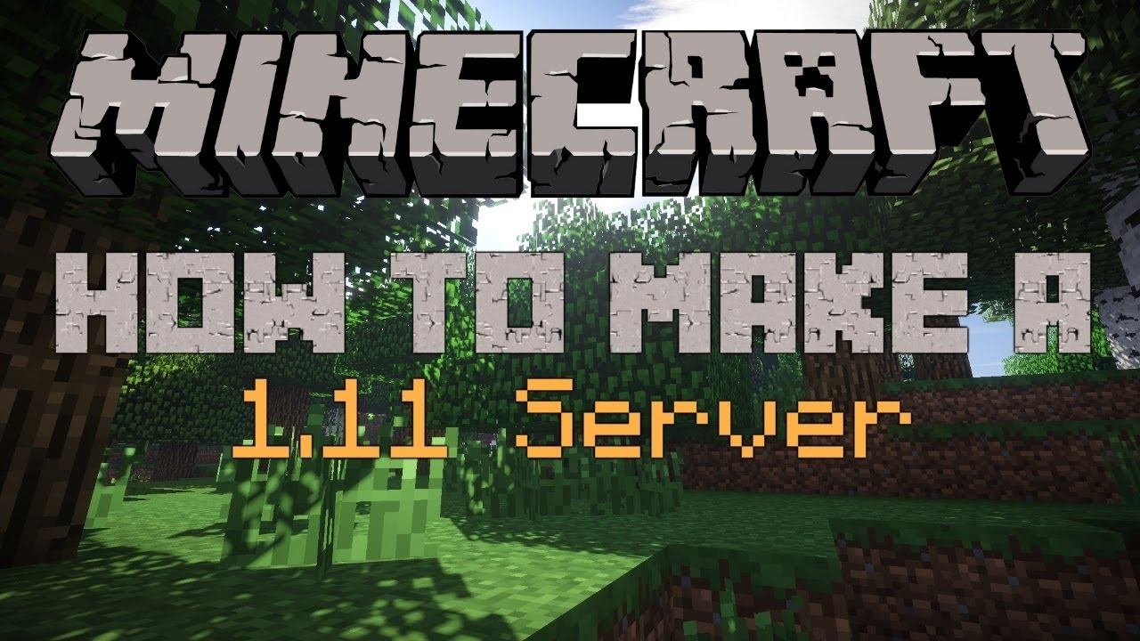 how to create a cracked minecraft 1.11.2 server and play ...