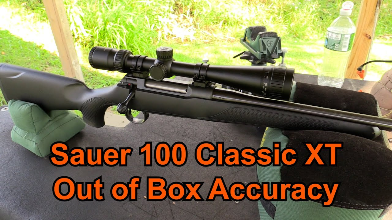 Download Sauer 100 Classic XT - Out of the Box Accuracy Test