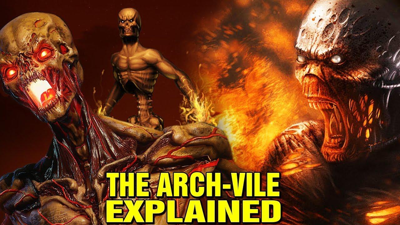 Doom Origins Archvile Lore Explained What Is The Summoner
