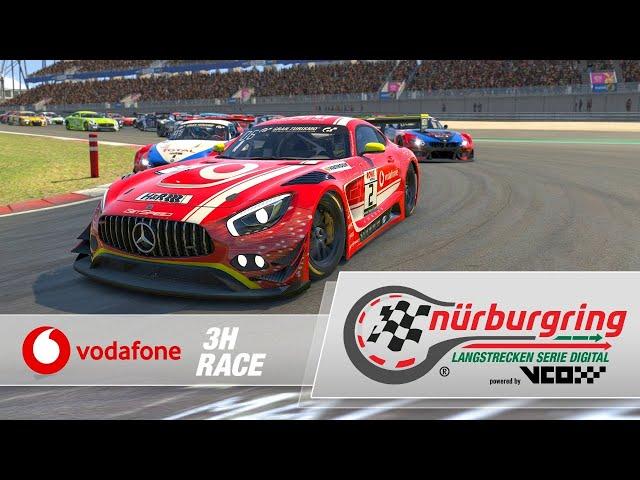 Vodafone 3h Race – Digital Nürburgring Endurance Series powered by VCO