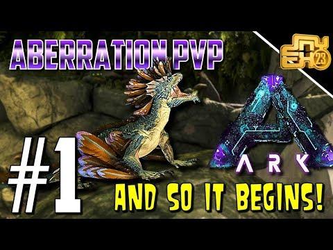 ARK OFFICIAL PVP ABERRATION - S3 EP - ABERRATION BEGINS!!!