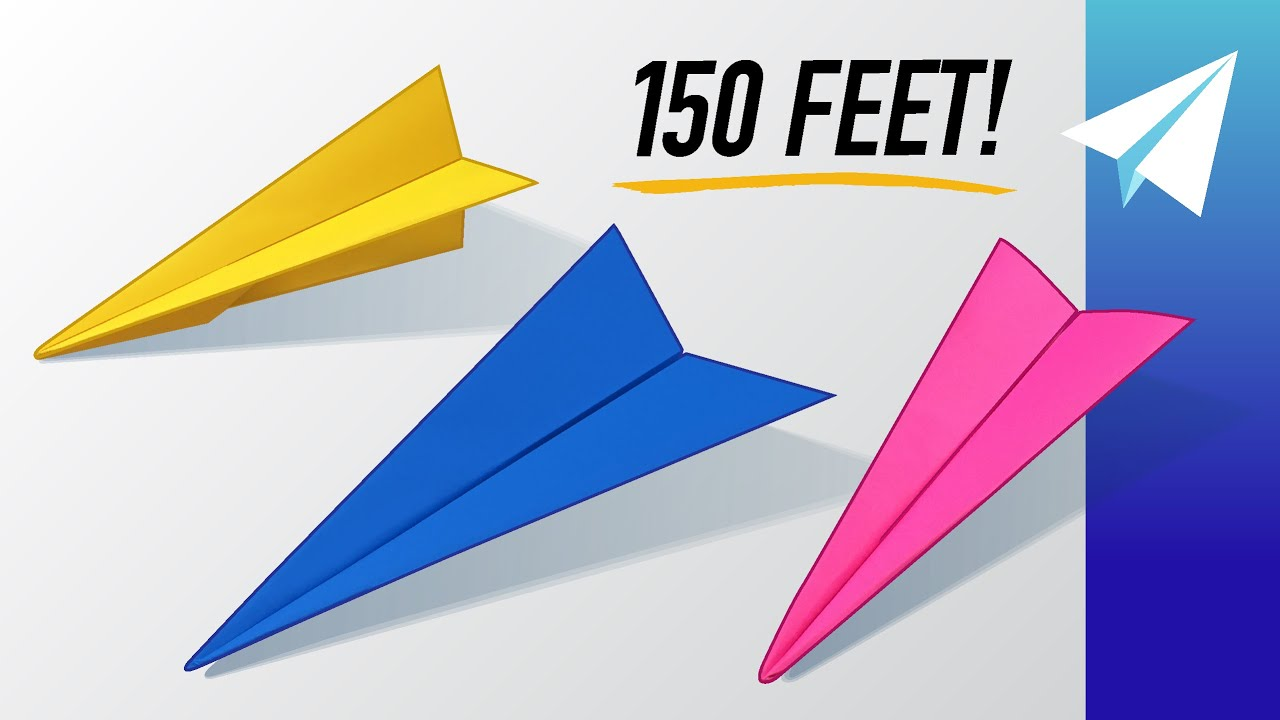 3 BEST Paper Airplanes for Distance! How to Fold 3 NEW Dart Designs —Guardian, Havoc, and Alkonost