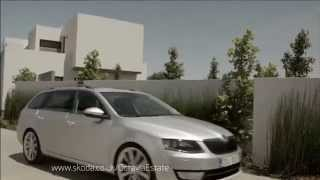 The new ŠKODA Octavia Estate TV ad (2013) | Ridgeway Skoda