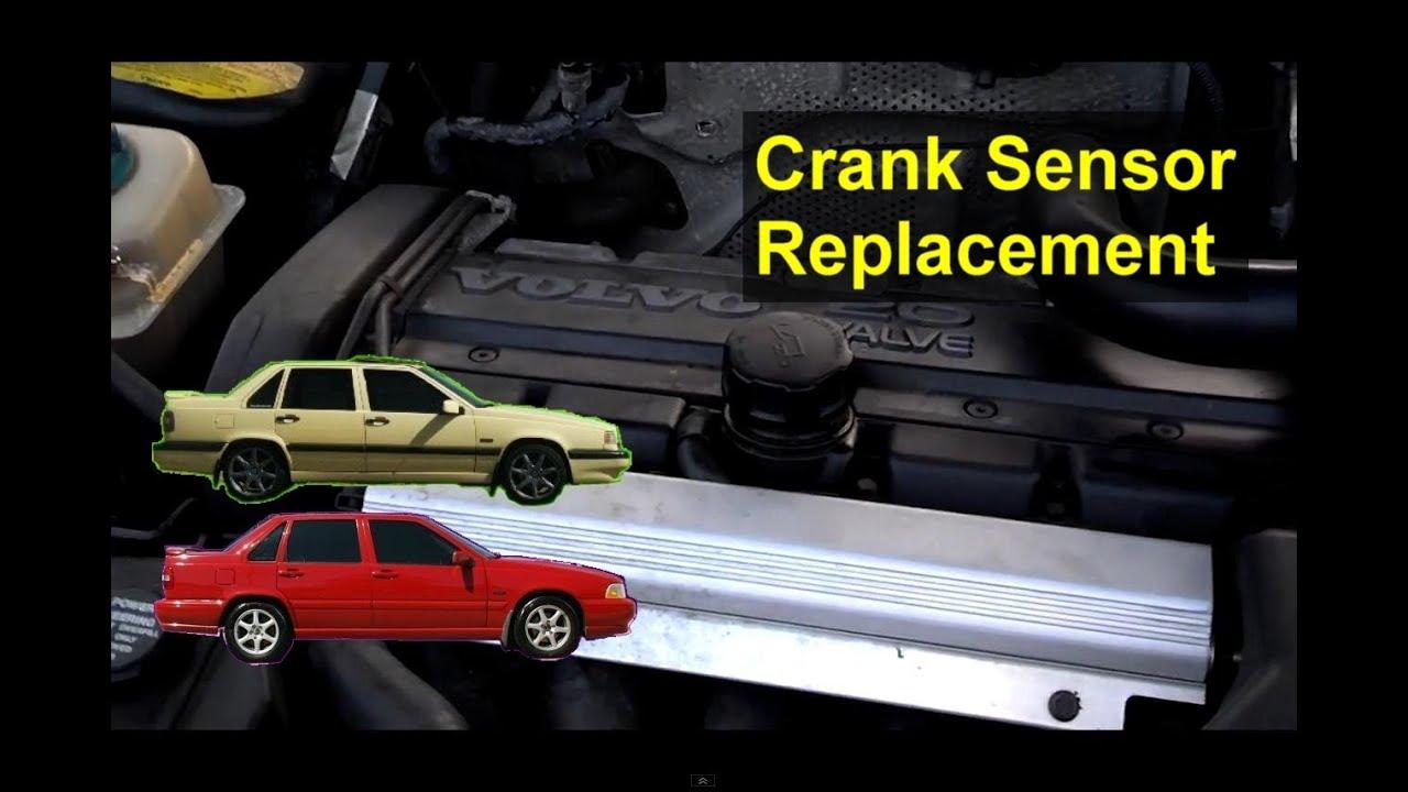 Crank sensor replacement, P0335, P0336, Volvo S70, 850 ...