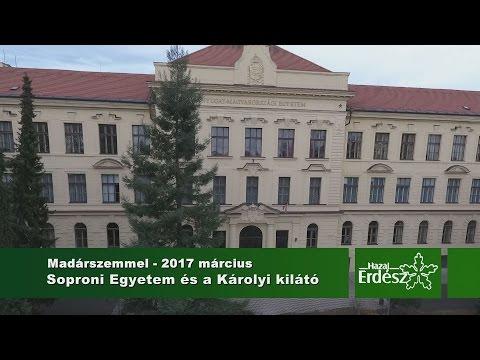 Madárszemmel - A Soproni Egyetem és a Károlyi kilátó - 2017. március