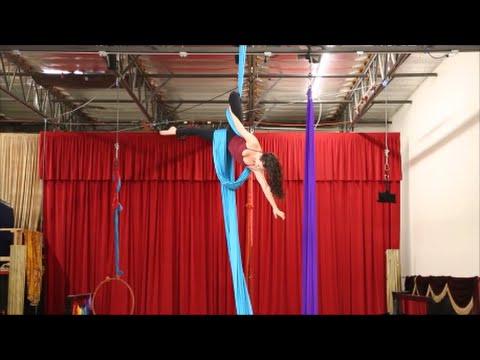 Bullet Drop - Aerial Silk Tutorial with Aerial Physique