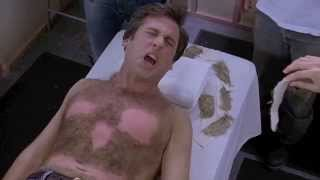 The 40- Year Old Virgin (5/11) Best Movie Quote - Body Waxing Scene (2005)
