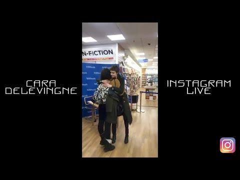 Cara Delevingne | Instagram LIVE | 18 December 2017
