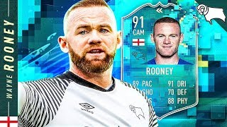 SHOULD YOU DO THE SBC?! 91 FLASHBACK WAYNE ROONEY REVIEW!! FIFA 20 Ultimate Team