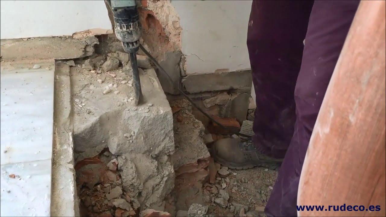 Demolici n de pelda os escalera para nueva configuraci n - Peldanos de escaleras ...