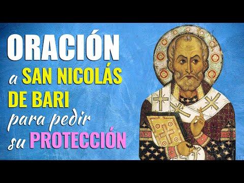 🙏 Oración a San Nicolás de Bari para pedir su PROTECCIÓN 🙇♀️ De todo Peligro