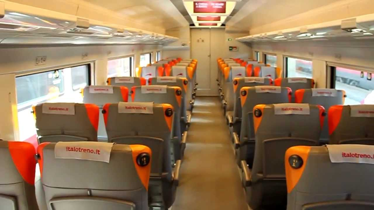 NTV .Italo Interior of this high speed train