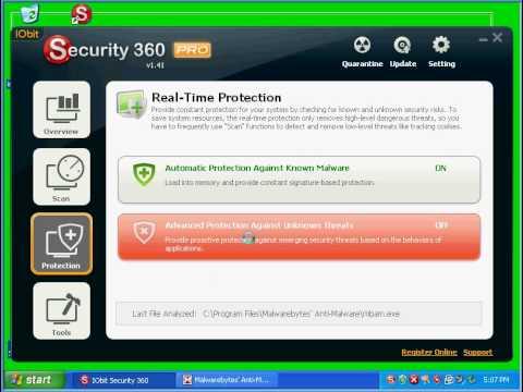 IObit Security 360 PRO Part 1