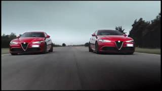 AutoMoto | Ferrari drivers testing the Alfa Romeo Giulia QV