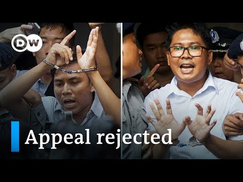 Myanmar Supreme Court rejects appeal of Reuters journalists | DW News