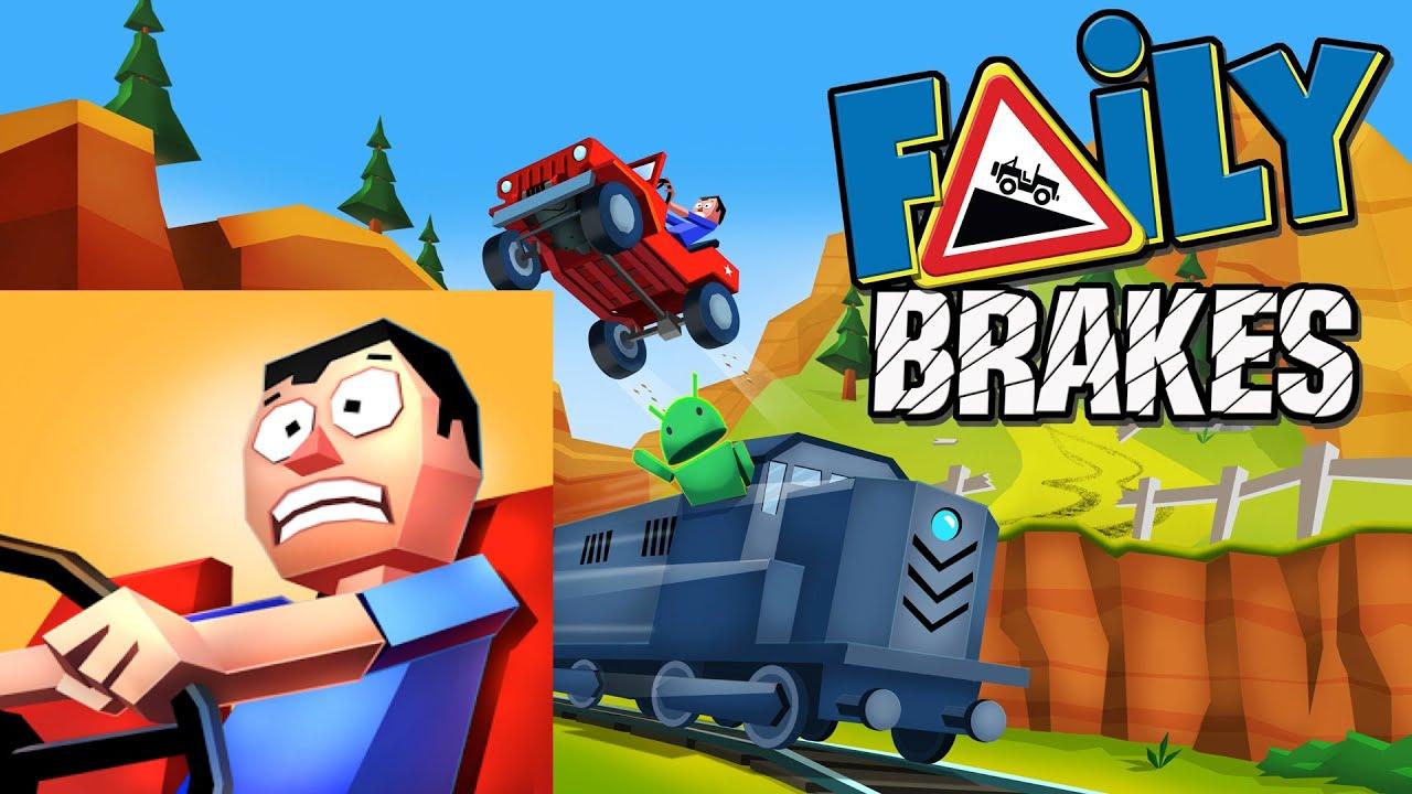 Faily brakes скачать взломанную игру машина без тормозов на андроид.