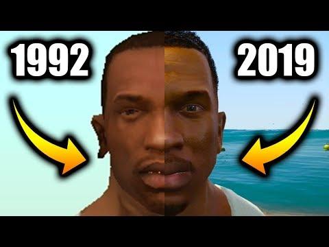 CJ In EVERY GTA Game (Evolution Of Carl Johnson)