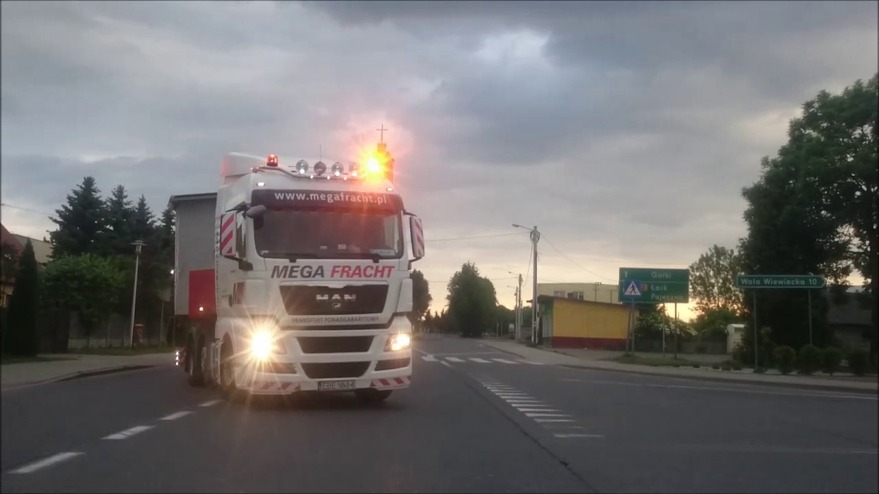 Wspaniały MEGA FRACHT - transport ponadgabarytowy - domek holenderski GS56