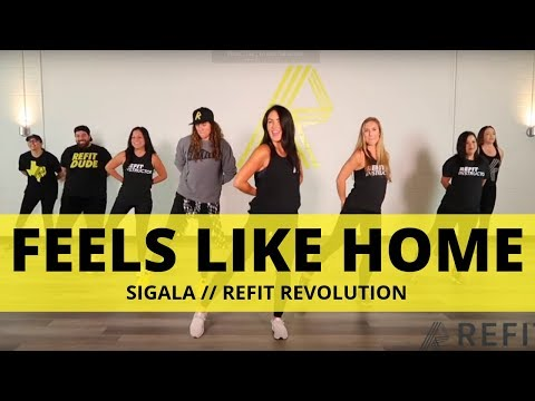 """Feels Like Home"" || Sigala || Cardio Dance || REFIT® Revolution"