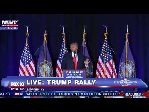FULL: Donald Trump Rally Bedford, New Hampshire