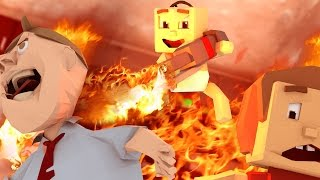 Minecraft | WHO'S YOUR DADDY FAMILY? How to Kill Annoying Neighbors!