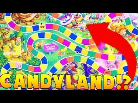 THIS IS THE CRAZIEST THROWBACK EVER - CANDYLAND BOARD GAME | JeromeASF